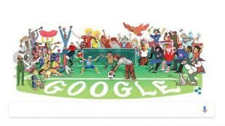 2018 World Cup: Google Doodle Marks the Official Opening of the 2018 FIFA World Cup