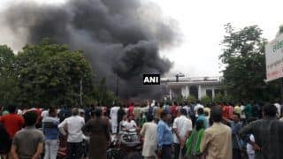 Major Fire Breaks Out at Godown in Lucknow; no Casualties Reported