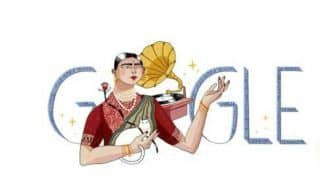 Gauhar Jaan's 145th Birth Anniversary: Google Honours Legendary Indian Artist with a Doodle