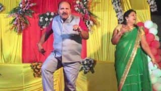 Dancing Uncle: Madhya Pradesh Professor Grooves to Govinda's Husn Hai Suhana; Video Goes Viral
