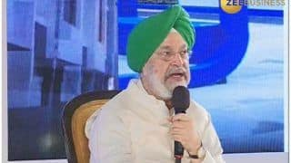 Union Minister Hardeep Singh Puri Retorts to Query on Felling of Trees; Says, 'Will Plant 10 More For Every Tree Cut'