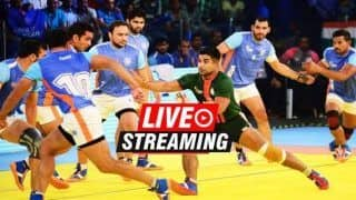 Kabaddi Masters 2018: India vs Pakistan Match 8 Live Streaming -- When And Where to Watch on TV (IST)