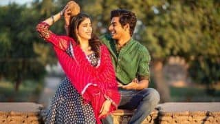 Ishaan Khatter And Janhvi Kapoor Tease Us With Their Playful Chemistry In Dhadak's New Still, Few Hours Before The Trailer Release