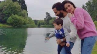 Taimur Ali Khan's Moment With Kareena Kapoor Khan And Saif From Their London Vacay is One of Their Best so Far!