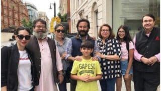 Kareena Kapoor Khan, Saif Ali Khan, Karisma Kapoor's Family Pic From London Needs To Be Framed ASAP!
