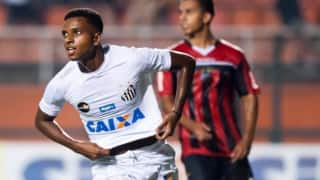 Transfer News: Santos Forward Rodrygo on Real Madrid Radar