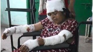 जेठ और अपनी जान बचाने को तेंदुए से लड़ी महिला, 10 मिनट में 20 घाव देकर तेंदुए ने तोड़ा दम