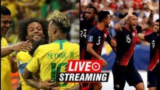 Brazil vs Costa Rica FIFA World Cup 2018 Match 24 Live Streaming: When And Where To Watch on TV (IST)