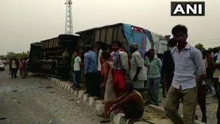 UP: 17 Dead, 35 Injured as Bus Hits Divider Near Mainpuri