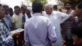 Caught on Camera: BJP Leader Threatens Government Employee, Says 'You Are Living at my Mercy Here, or Else I Would Have Blackened Your Face'