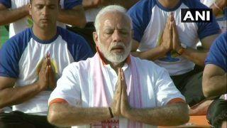 International Yoga Day 2018: PM Narendra Modi Leads Celebrations in Dehradun, Says Yoga Unites World