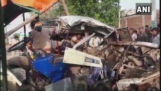 मध्य प्रदेश: मुरैना में भीषण सड़क हादसे में 12 की मौत, 8 घायल