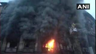 Mumbai: Massive Blaze Breaks Out Inside Patel Chambers in Fort Area, 18 Fire Tenders at Spot, 2 Injured