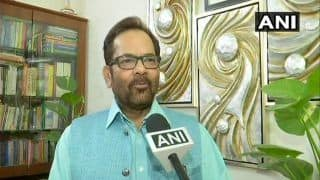 Union Minister Mukhtar Abbas Naqvi Takes a Dig at Congress President Rahul Gandhi, Says he is Organising Iftar Party For Political Gain