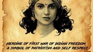 Manikarnika: The Queen of Jhansi New Poster: Kangana Ranaut Pays a Fitting Tribute to Rani Lakshmibai on Her 160th Death Anniversary