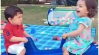 Taimur Ali Khan and Rannvijay Singha's Daughter Kainaat's Play Date Will Make You Miss Your Childhood - Watch Video