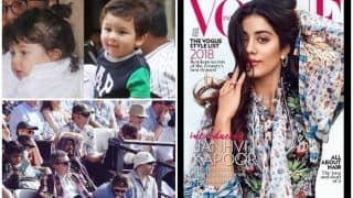 Viral Pics Of The Week : Taimur Ali Khan's Haircut, Irrfan Khan At Lords Stadium, Janhvi Kapoor On The Cover Of Vogue India - In This Week's Edition
