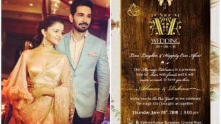 Rubina Dilaik and Abhinav Shukla's Eco-Friendly Wedding Invite Out - See Pic