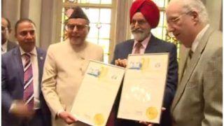 न्यूयॉर्क स्टेट की एसेंबली में हुआ राज्यसभा सांसद डॉ. सुभाष चंद्रा का सम्मान