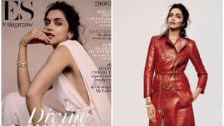 Deepika Padukone Shines in an Ivory Jumpsuit on the Cover of Evening Standard