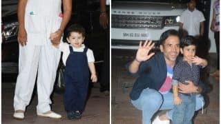 Taimur Ali Khan Attends Laksshya Kapoor's Birthday, Takes All The Limelight With His Cuteness Quotient - View Pics