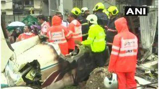 मुंबई प्लेन हादसाः को-पायलट के पति ने कहा- टेक-ऑफ से पहले हुई थी बात, टल सकता था हादसा