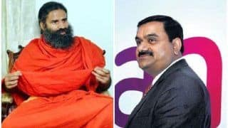 Ruchi Soya Trading 4 Per cent up After Adani Beats Baba Ramdev in Bidding Process. Will Patanjali Come up With Better Offer?