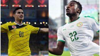 प्री-क्वार्टर फाइनल के टिकट के लिए आज वर्ल्ड कप में आमने-सामने होंगे सेनेगल और कोलंबिया