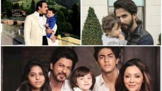 Father's Day 2018: Taimur Ali Khan - Saif, Suhana Khan, AbRam - Shah Rukh Khan, Misha - Shahid Kapoor - Adorable Moments You Shouldn't Miss
