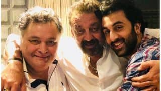 Rishi Kapoor Shares a 'Jadoo Ki Jhappi' Picture with Ranbir Kapoor and Sanjay Dut