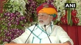 PM Modi Launches Rs 3,866-crore Mohanpura Irrigation Project in MP's Rajgarh; Says Oppn Spreading Lies And Pessimism