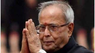 Former President Pranab Mukherjee Expresses Gratitude, Humility to Indian Citizens For Bharat Ratna Award