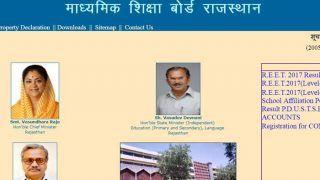 RBSE 10th Result 2018: आज जारी होंगे नतीजे,rajeduboard.rajasthan.gov.in पर ऐसेे चेेेक करें