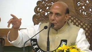 Rajnath Singh Announces Withdrawal of Stone Pelting Cases Against Minors in J&K, Slams Separatists For 'Playing With Their Future'