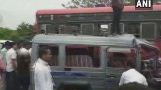 महाराष्ट्र में नासिक के पास भीषण रोड एक्सीडेंट, 7 लोगों की मौत, 8 घायल
