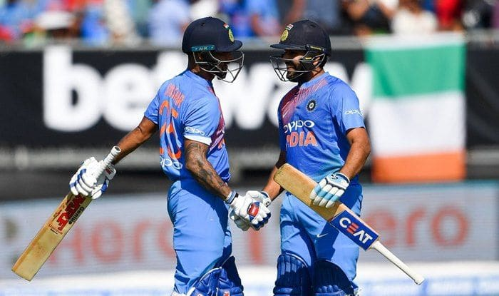 Image result for india vs ireland t-20 rohit and dhawan