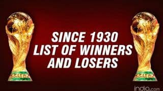 FIFA World Cup: List of Cup Winners And Losers Since 1930
