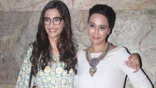 Sonam Kapoor On Swara Bhasker Getting Trolled: People Troll Her Because They Love Her