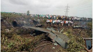 VIDEO: सुखोई क्रैश होने से पहले पायलटों ने पैराशूट के कूदकर ऐसे बचाई जान