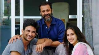 Sara Ali Khan and Sushant Singh Rajput Wrap Up The Shoot Of Kedarnath By Cutting a Cake -Watch Video