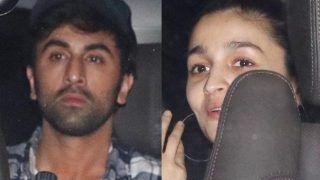 Alia Bhatt - Ranbir Kapoor Pack Up and Leave Brahmastra Sets Together - See Pics