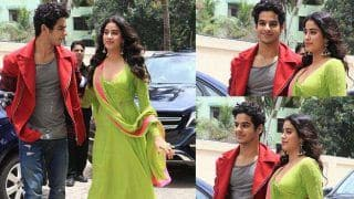 Dhadak Trailer: Karan Johar, Janhvi Kapoor, Ishaan Khatter Make a Stylish Appearance at The Event - View Pics