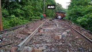 Chhattisgarh: 8 Coaches And Engine of Goods Train Derail in Dantewada; No Casualties Reported