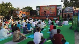International Yoga Day 2018: Here is a New Initiative to Drive Truckers Towards Fitness