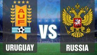 FIFA World Cup: Uruguay vs Russia, Live Scorecard and Latest Match Stats