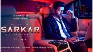 Sarkar Second Poster Out: Thalapathy Vijay's Serious Look Leaves Us Intrigued