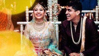'मसान' एक्ट्रेस स्वेता त्रिपाठी ने रैपर चैतन्य शर्मा से गोवा में की शादी, देखें VIDEO