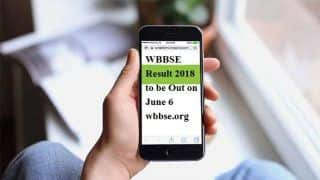 WBBSE Result 2018: West Bengal Madhyamik Result to be Declared Tomorrow at 9 AM, Check at wbbse.org