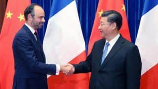 Chinese President Xi Jinping Meets French PM Edouard Philippe, Calls For Better Ties