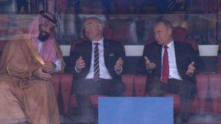 Watch Vladimir Putin's Hilarious Reactions During Russia's Emphatic Win